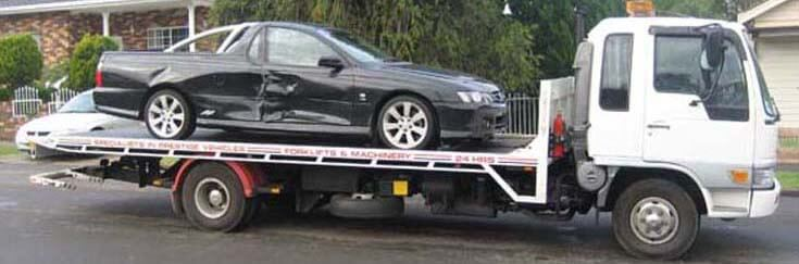 Damaged Car Removal Sydney